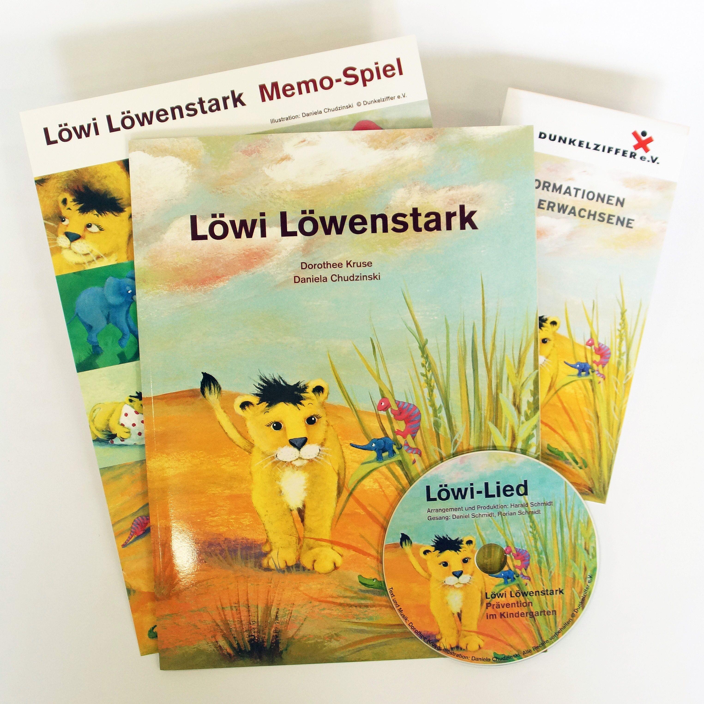 Löwi Löwenstark - Das Buch mit den dazugehörigen Materialien