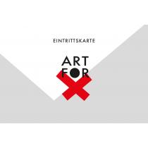 """Eintrittskarte """"Art for Dunkelziffer"""" – 12.11.2018, Atelier F"""